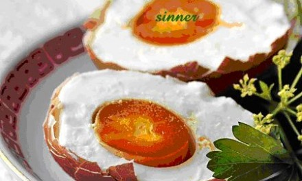 Salting Eggs with Brine