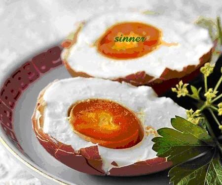 Salting Eggs with Brine