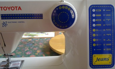 New Toy – Toyota Sewing Machine