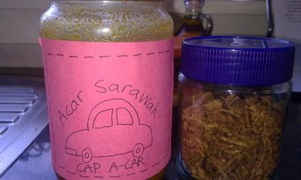 Acar Rampai  (Rampai Pickle)