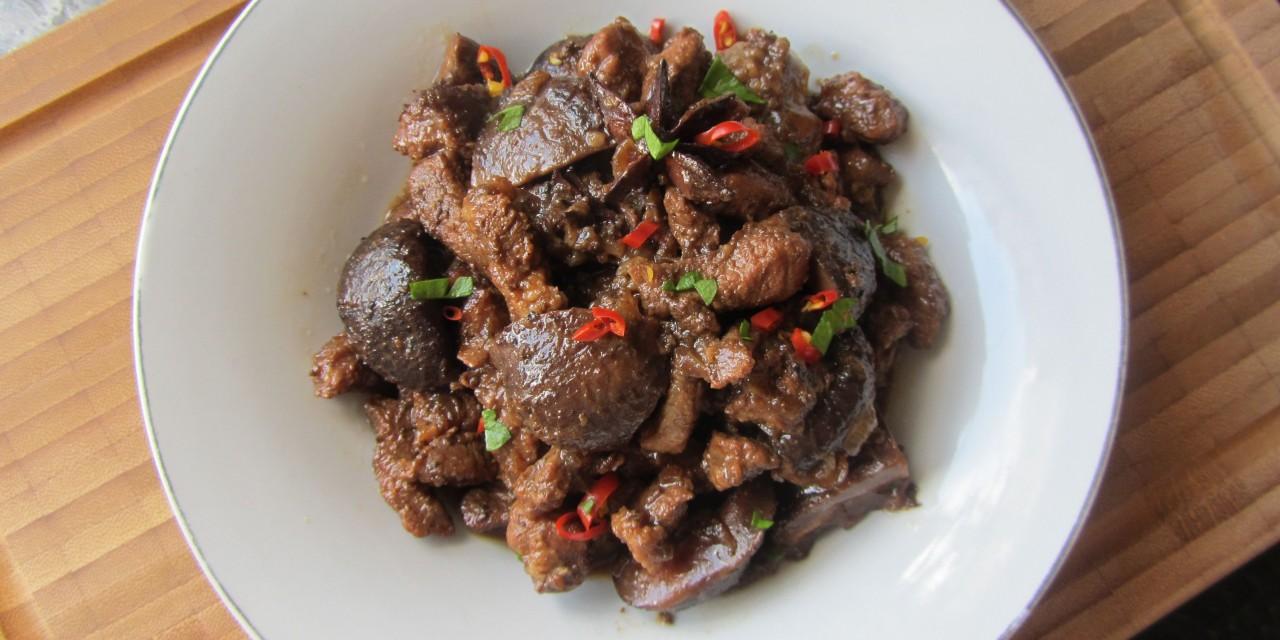 Babi Chin  (Fragrant Pork)