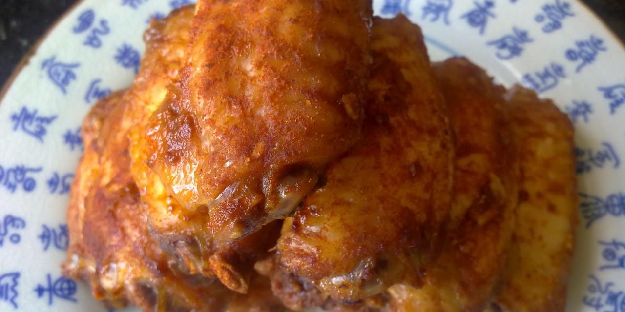 BBQ Sweet Paprika Chicken Wings
