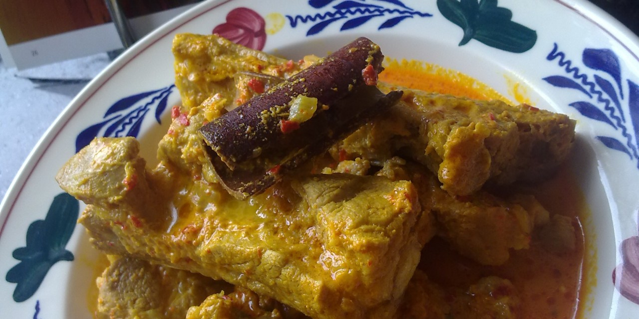 Gulai Cincang  (Lamb Curry Padang-Style)