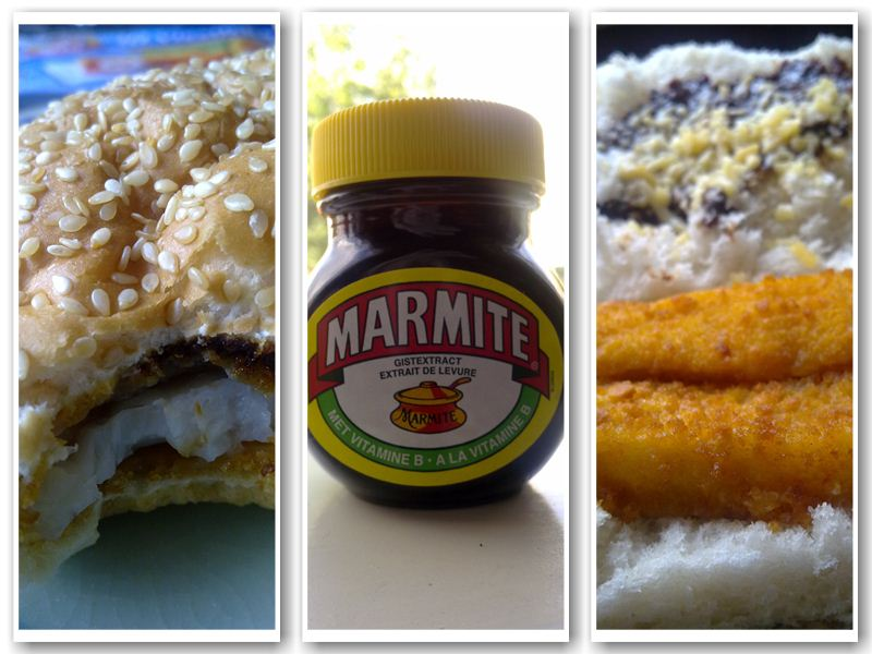 Marmite Fishstick Sandwich