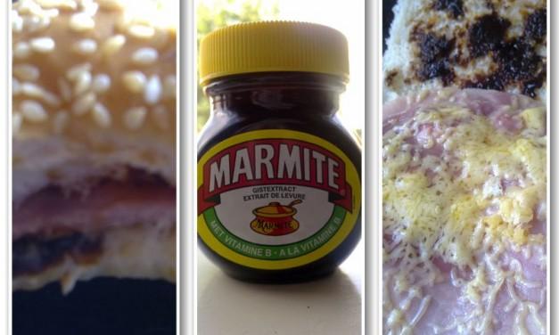 Marmite Ham Cheese Sandwich