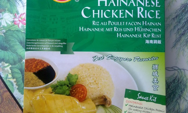 PrimaTaste Hainanese Chicken Rice with Condiments