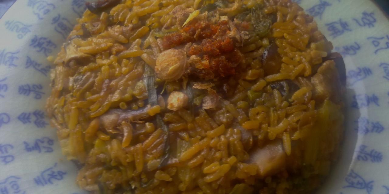 Kai Choy Fan (Mustard Cabbage Rice)