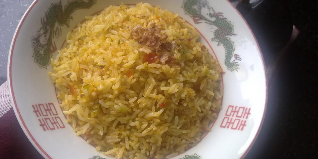 Nasi Goreng Kuning  (Yellow Fried Rice)