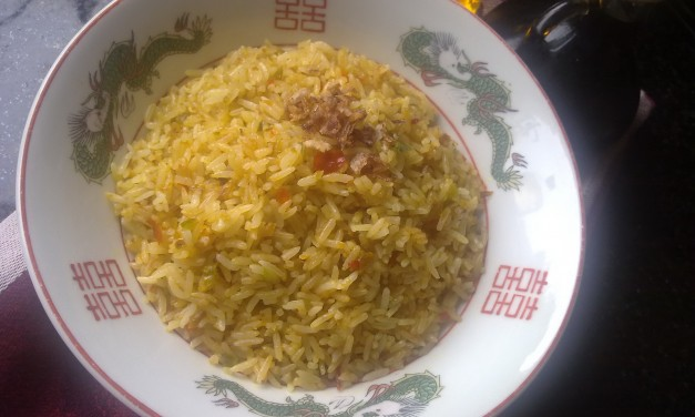 Nasi Goreng Kuning  (Yellow Fried Rice)
