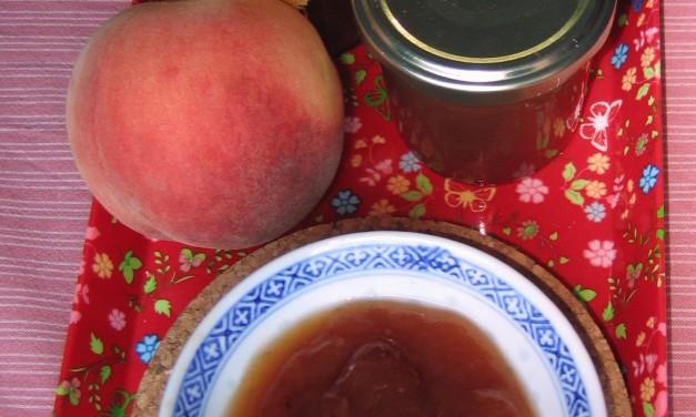 Nectarine Jam without Pectin