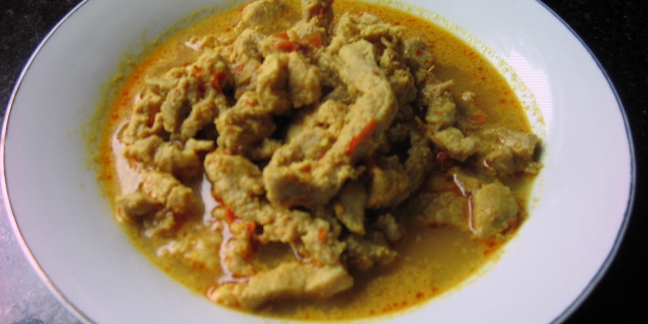Pork Sambal Nyonya-Style