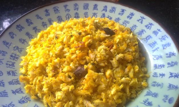 Spicy Fish Puttu