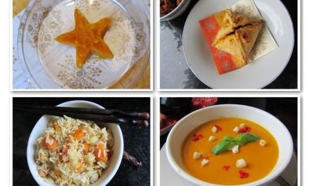 Pumpkin & Egg Fried Rice