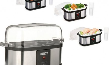 Electric Egg Cooker  & Mini Steamer