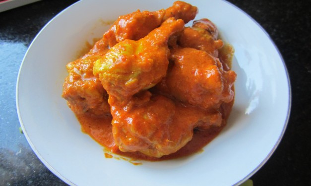 Chicken in Spicy Tomato Sauce