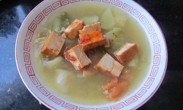 Kiam Chye Kut Th'eng  (Salted Mustard Green & Bones Soup)