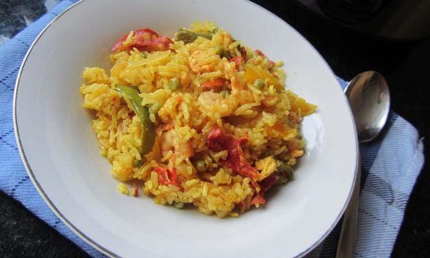 Lemony Prawn & Chorizo Rice
