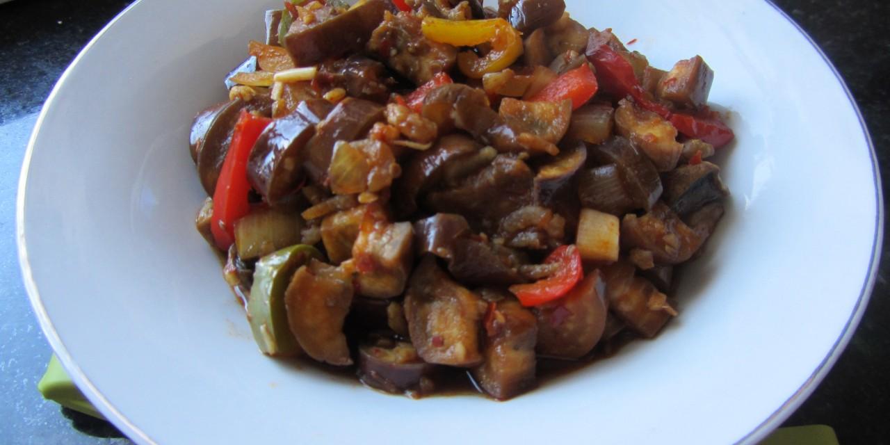 Aubergine in Chiu Chow Sauce