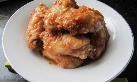 Sweet & Spicy Thai Chicken Wings