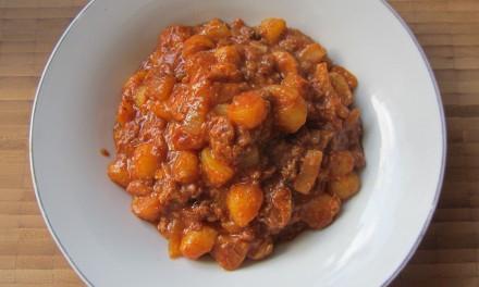 Sardines & Potatoes in Tomato Sauce