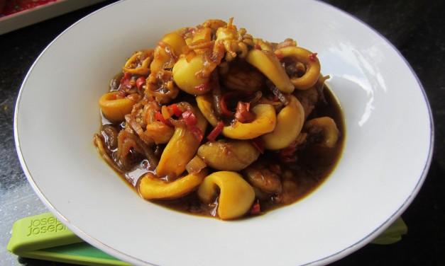 Sotong Kecap Manis  (Sweet Soy Squids)