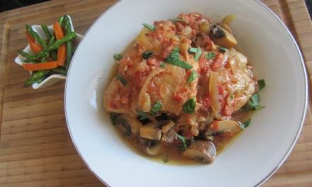 SlowCooker Tomato Chicken Casserole