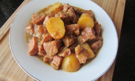 Peppery Pork & Potato Stew