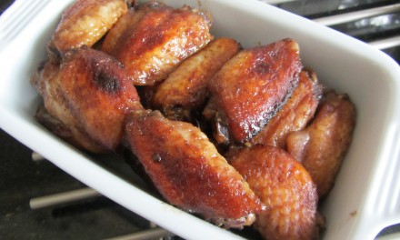 Sriracha 5-Spice Chicken Wings