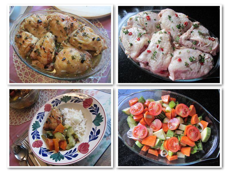 Baked Chicken & Vegetables Casserole