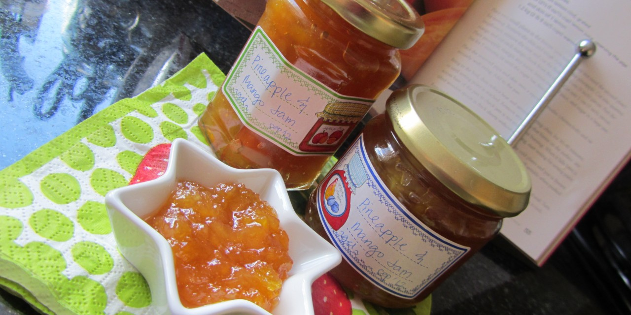 Pineapple & Mango Jam without Pectin