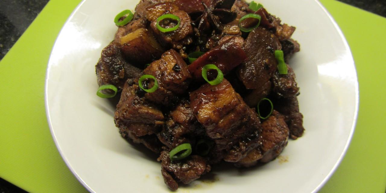 Spicy Fragrant Pork Belly