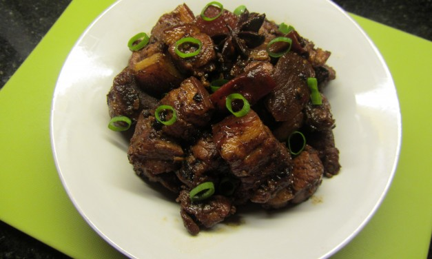 Spicy Fragrant Pork Belly