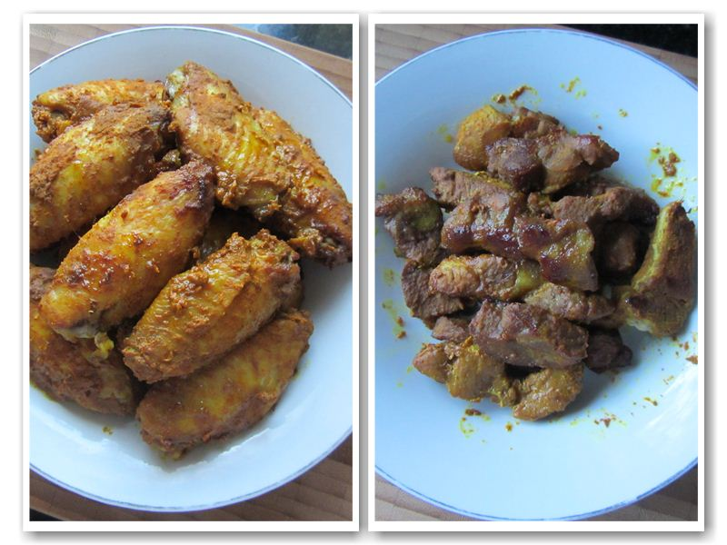 Baked Turmeric & Curry Chicken