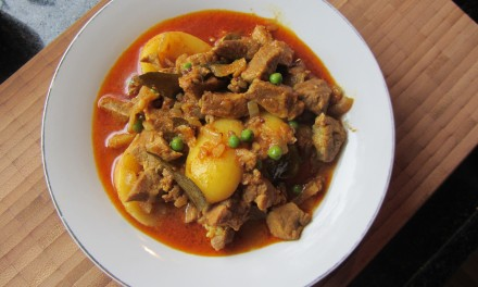 "Pork & Potato ""Lazy"" Varuvel Curry"