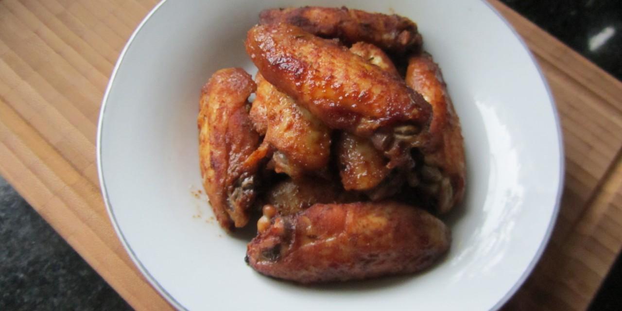 Baked Sweet Soy & Paprika Wings