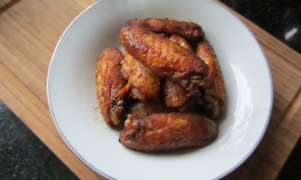 Baked Sweet Soy & Paprika Wings
