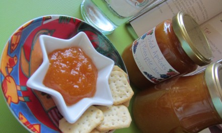 Dried Apricot & Pineapple Jam without Pectin