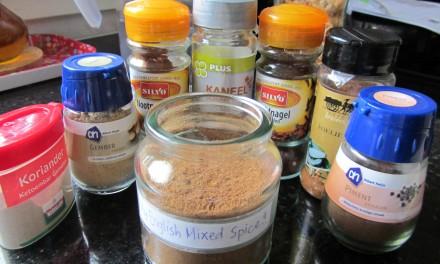 Mixed Spice recipe