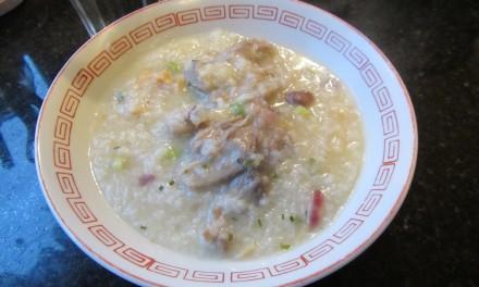 Dried Scallop, Dried Oyster & Softbone Pork Porridge