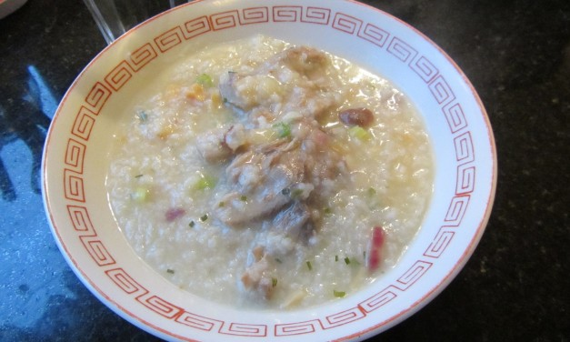 Dried Scallop, Dried Oyster & Softbone Pork Porridge