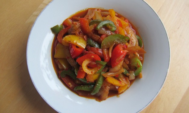 Sweet Chilli Paprika Stirfry