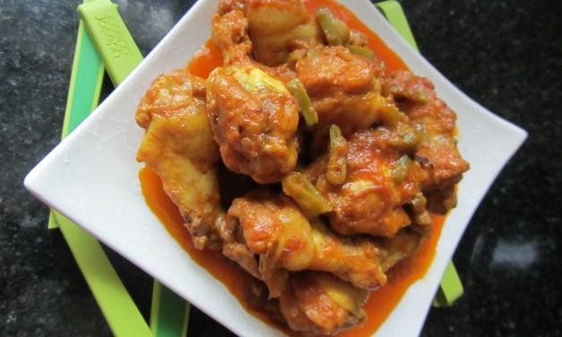 Ayam Masak Merah  (Malay Red-Cooked Chicken)