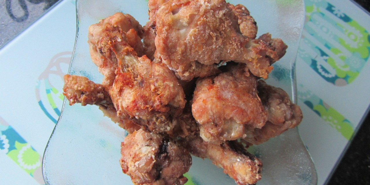 Baked Crispy Nam Yue Drummettes