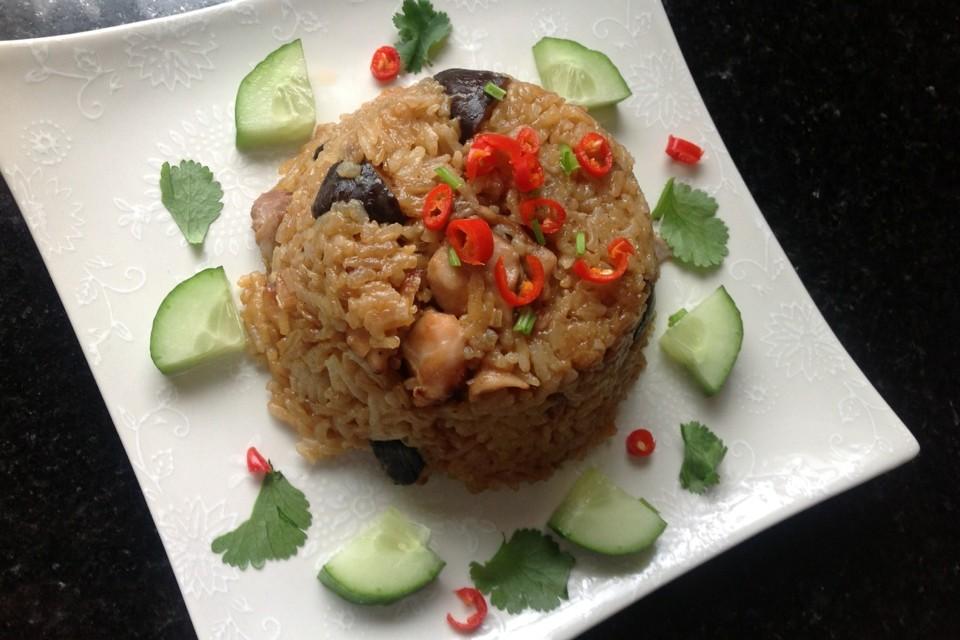 Chicken & Chestnut Rice
