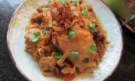 SlowCooker Balti Chicken