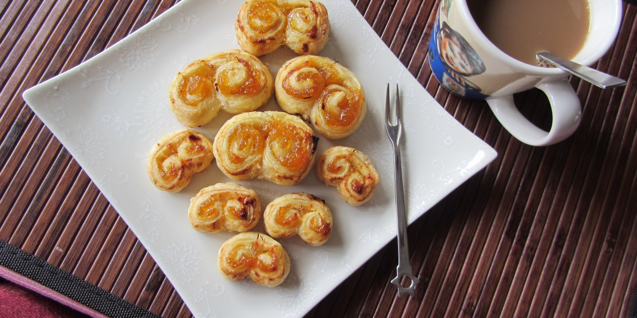 Apricot & Pineapple Palmiers