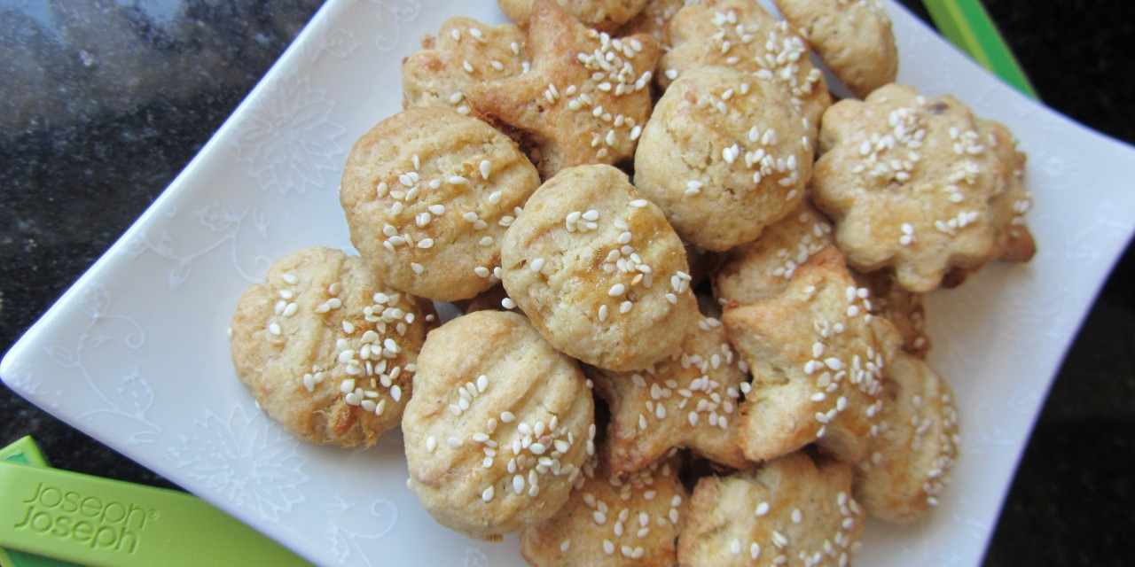 Meat Floss Cookies