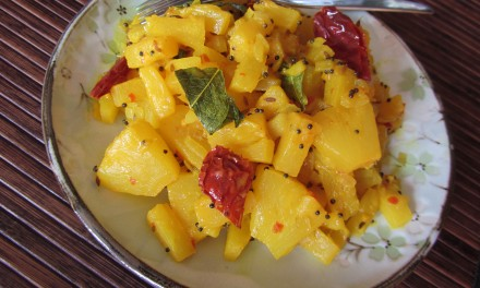 Chilli & Mustard Flavoured Pineapple