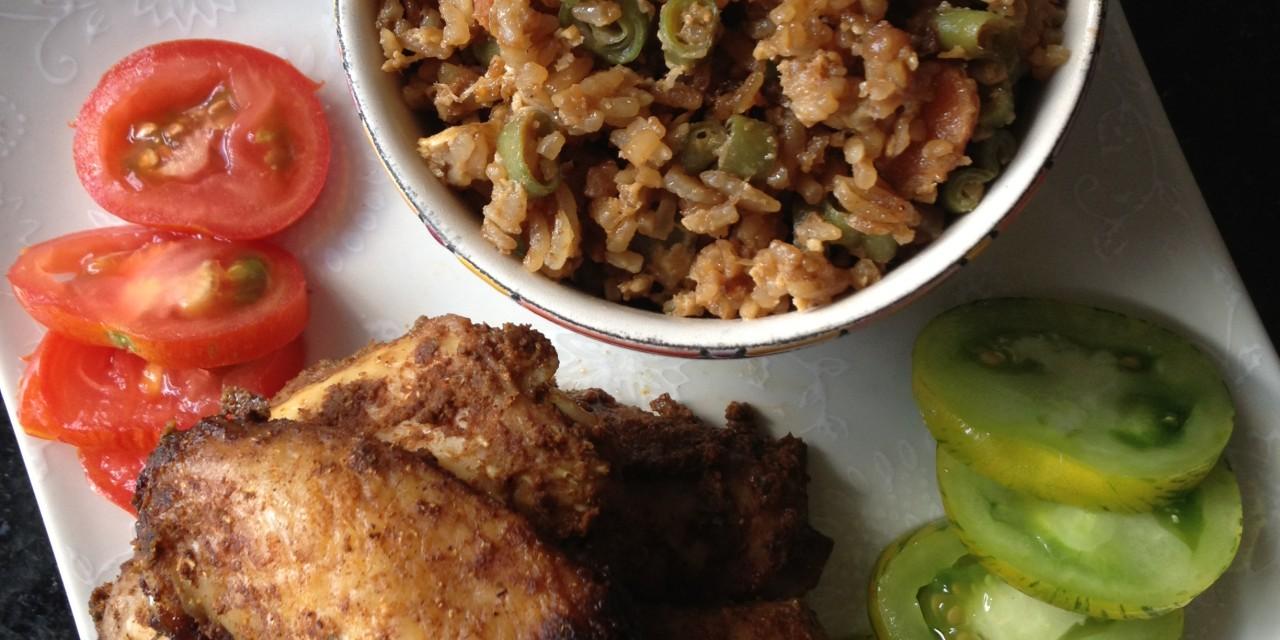 Baked Masala Chicken Wings