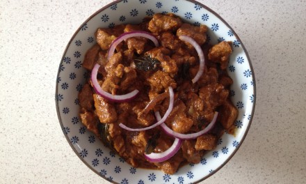 Chilli Pork with Curry Leaves
